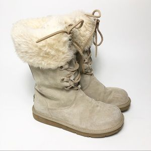 UGG Montclair lace up shearling Boot 1892
